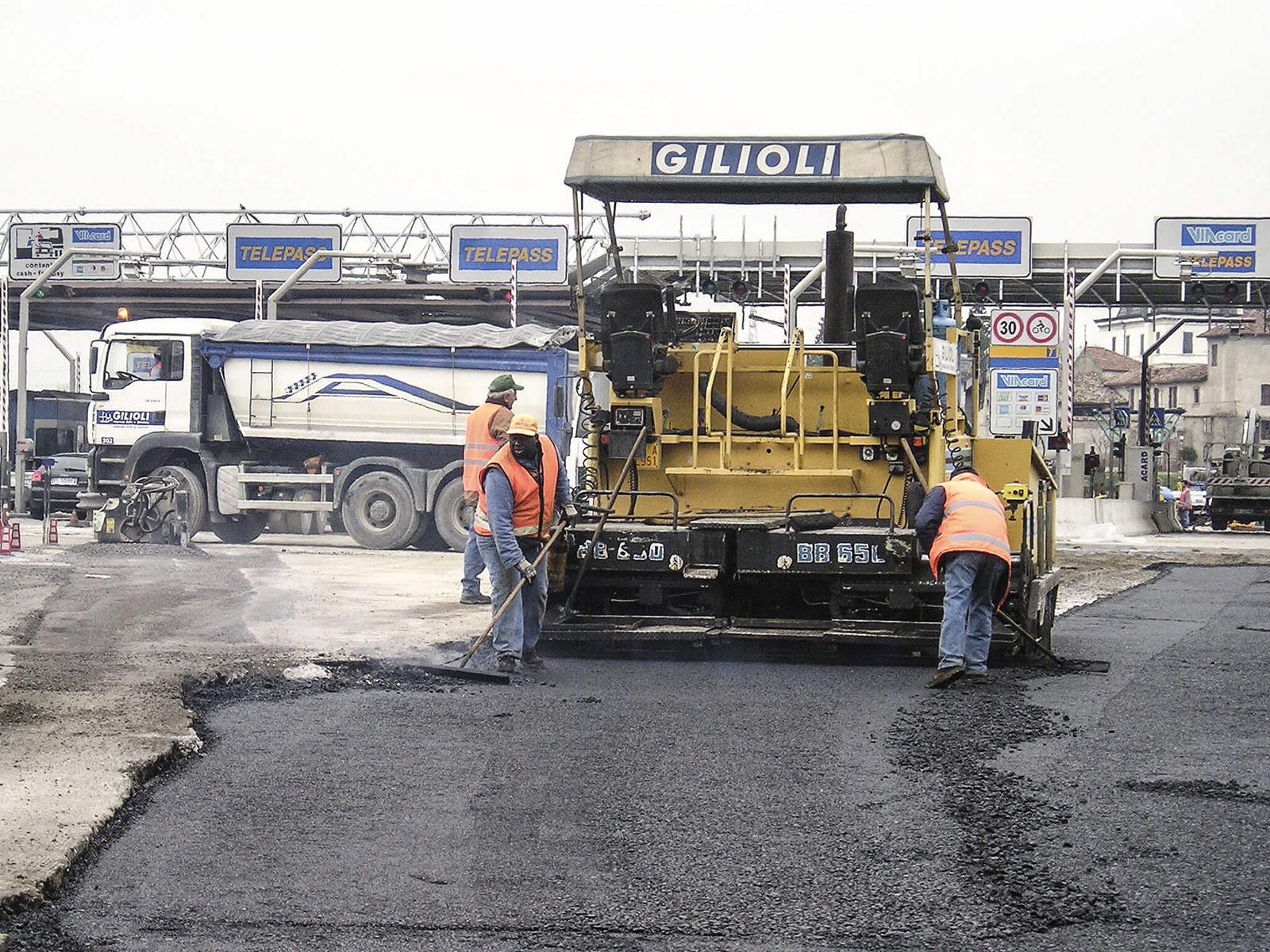 Infrastruttura stradale in realizzazione
