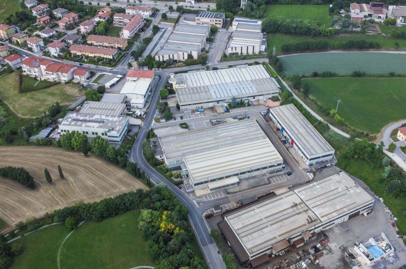 Iniziativa Gilioli Costruzioni - Costruzione di zona industriale per un totale di 14.000 mq di capannoni - Desenzano del Garda