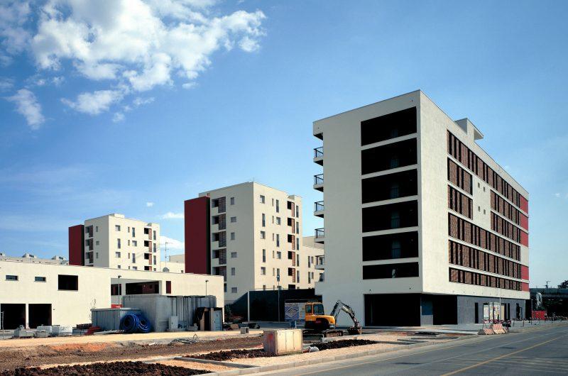"""Iniziativa Gilioli Costruzioni - Costruzione di 280 unità immobiliari con relative strade e parcheggi nel quartiere """"Sanpolino"""" - Brescia"""