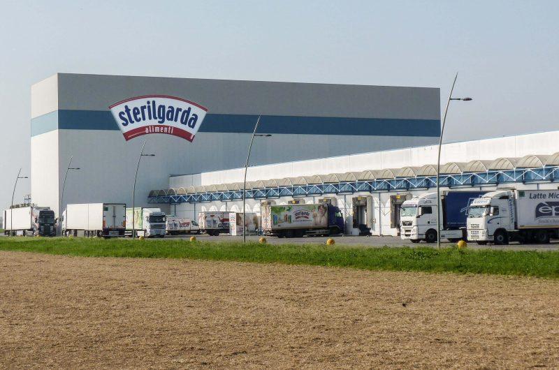 """Opere strutturali magazzino automatizzato con realizzazione nuovo ingresso """"Sterilgarda Alimenti"""" - Castiglione delle Stiviere"""
