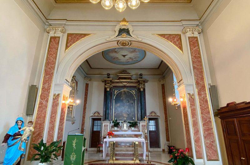 Restauro e risanamento conservativo chiesa di Castel Venzago - Lonato del Garda