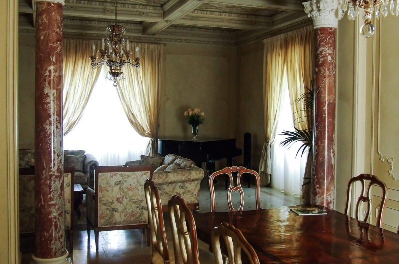 Ristrutturazione con restauro conservativo lussuosa villa sul Lago di Garda - Vista interni